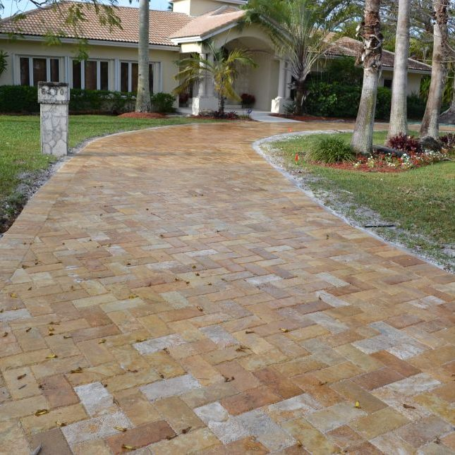 miami driveway paving services